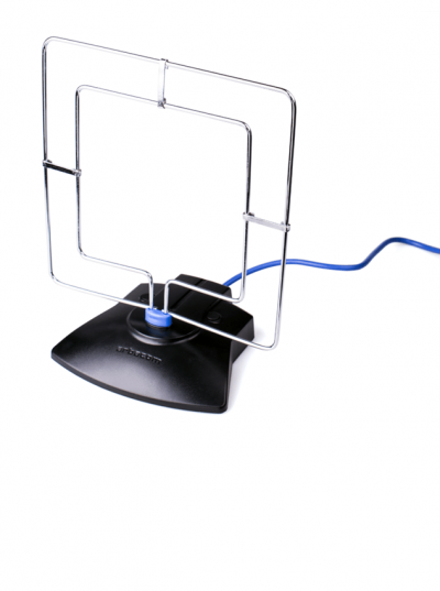 Антенна комнатная активная для цифрового ТВ Квадра