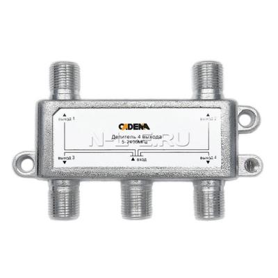 Делитель на 4 выхода Cadena 5-2400 МГц