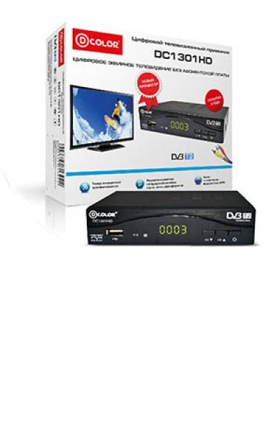 Приставка для цифрового ТВ DVB-T2 DC1301HD