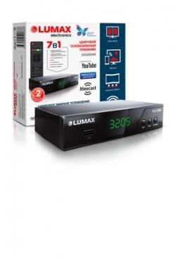Приставка для цифрового ТВ Lumax DV3205HD с функцией Meecast